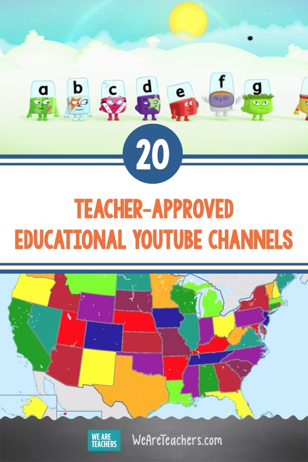 20 Teacher-Approved Educational YouTube Channels