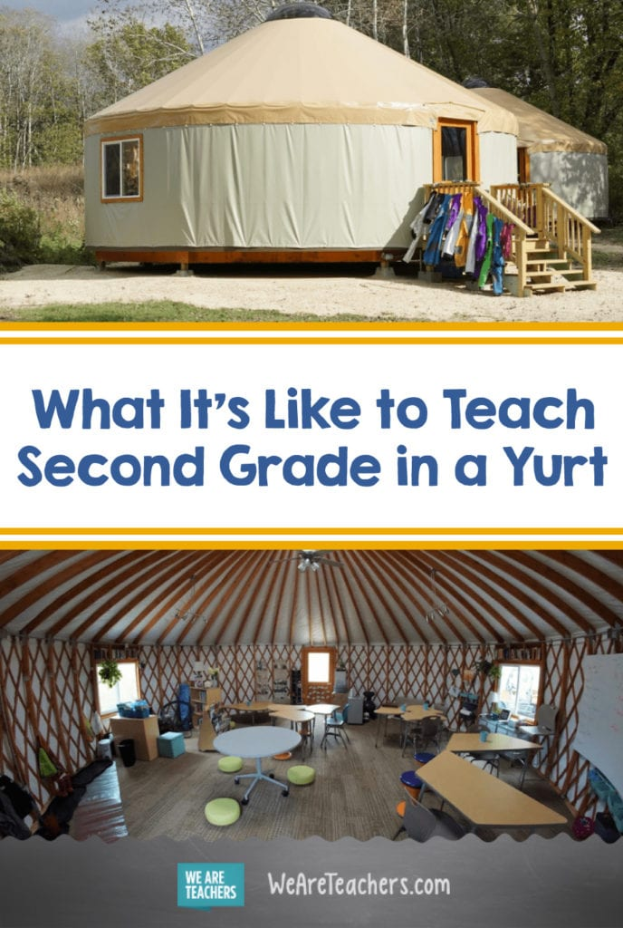 What It's Like to Teach Second Grade in a Yurt