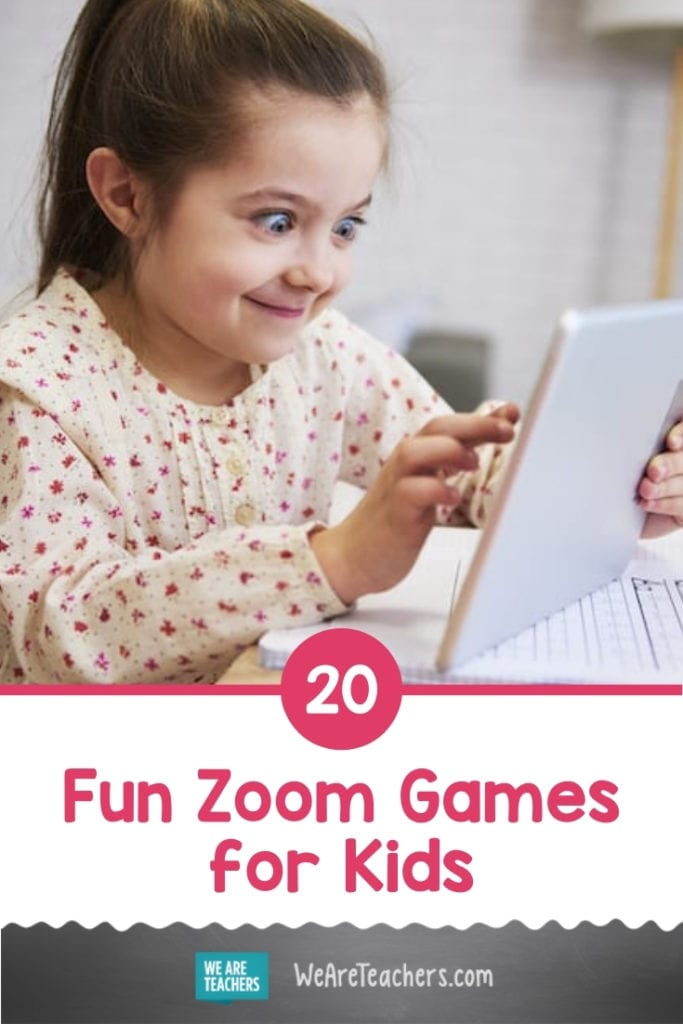 20 Fun Zoom Games for Kids