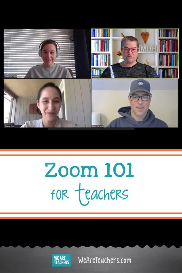 Zoom 101 for Teachers