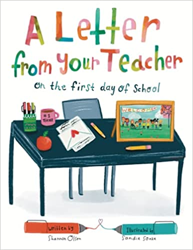 A letter from your teacher book cover