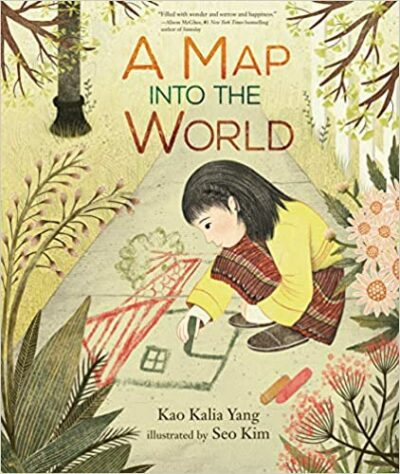 Book cover for A Map Into the World