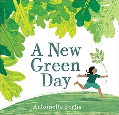 Book cover for A New Green Day as an example of poetry books for kids
