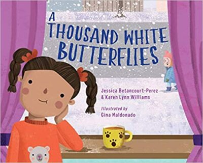 Book cover for A Thousand White Butterflies as an example of childrens books about friendship