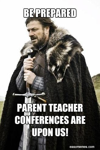 Parent Teacher Conferences - Family Guide
