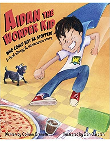 Book cover for Aiden: The Wonder Kid Who Could Not Be Stopped
