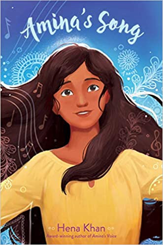 Book cover for Amina's Song as an example of social justice books for kids