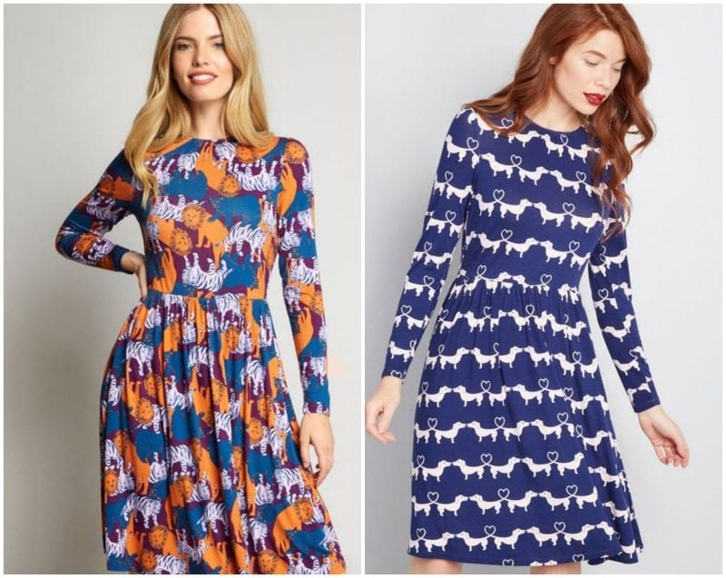 4c2e4000a8 Ms. Frizzle loved animals and would probably sport either of these great  designs. They re both available on ModCloth. For those of you who like  sleeves
