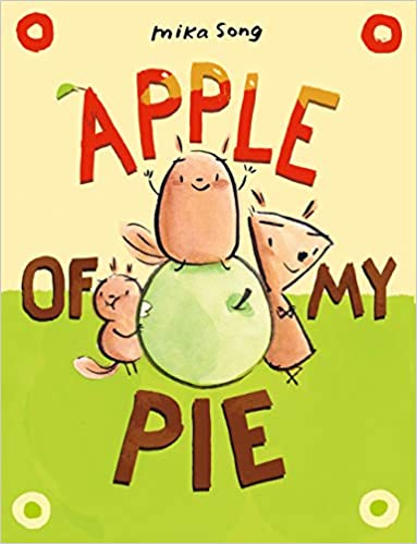 Book cover for Apple of my Pie as an example of graphic novels for kids