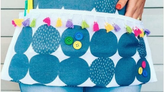 Teacher aprons to make classroom life easier