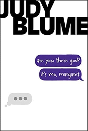 Book cover of Are You There God It's Me Margaret by Judy Blume