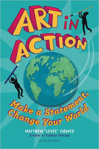 Book cover for Art in Action: Make a Statement, Change Your World