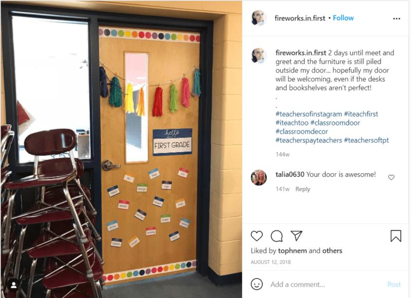 Still of classroom door ideas
