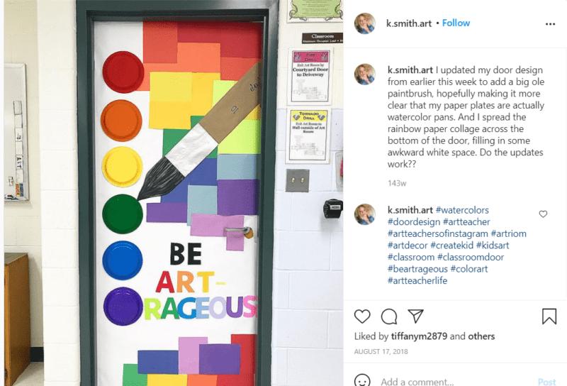 Still of classroom door ideas for back to school
