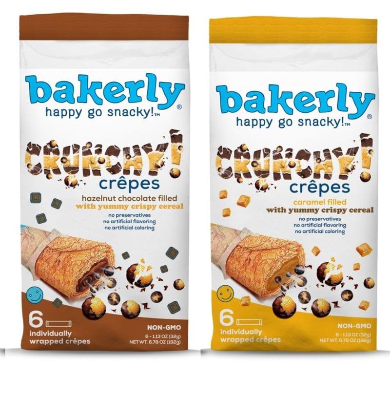 No Fridge Snacks - Bakerly crepes in caramel and hazelnut