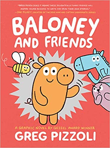 Book cover for Baloney and Friends Book 1 as an example of graphic novels for kids