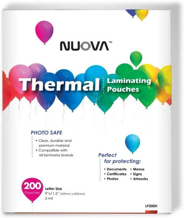 Nuova Premium Thermal Laminating Pouches