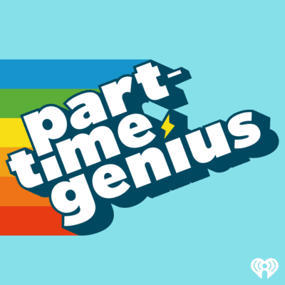 Part-Time Genius podcast for teens logo