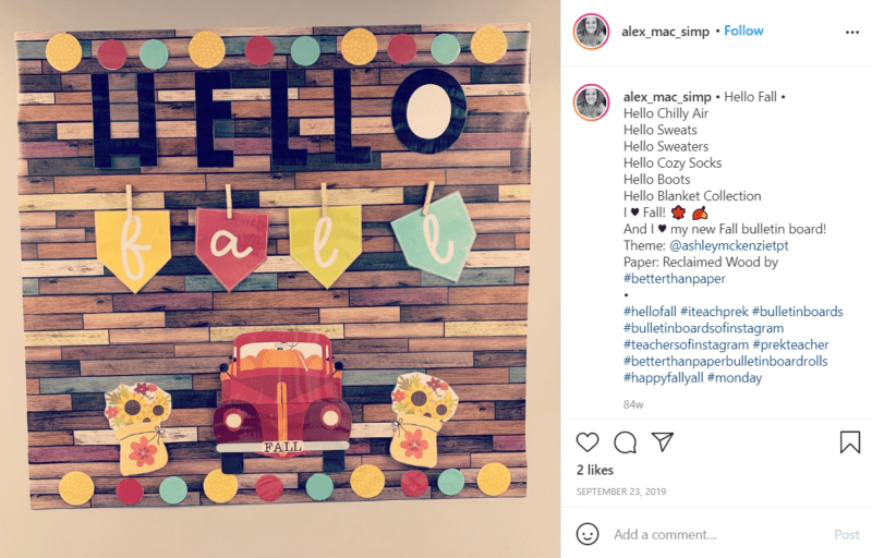 Still of better than paper helps teachers make beautiful designs from Instagram