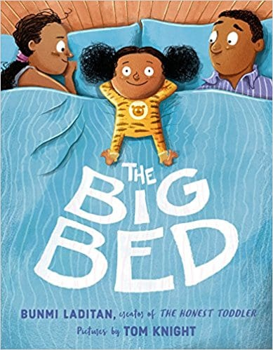 Book cover for The Big Bed as an example of opinion writing mentor texts