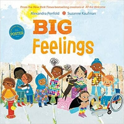 Book cover for Big Feelings as an example of children's books that teach social skills