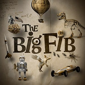 The Big Fib podcast logo