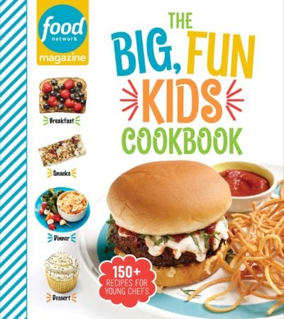 Big Fun Kids Cookbook book cover -- nonfiction for reluctant readers