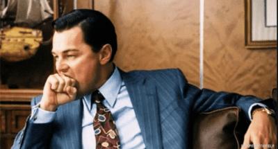 Biting meme Leonardo Dicaprio