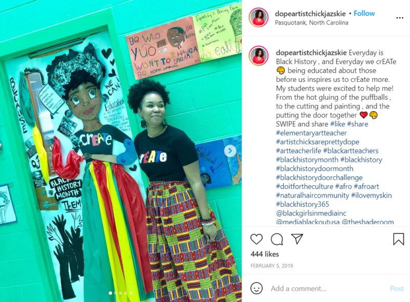 Still of black history month doors are a group effort from Instagram