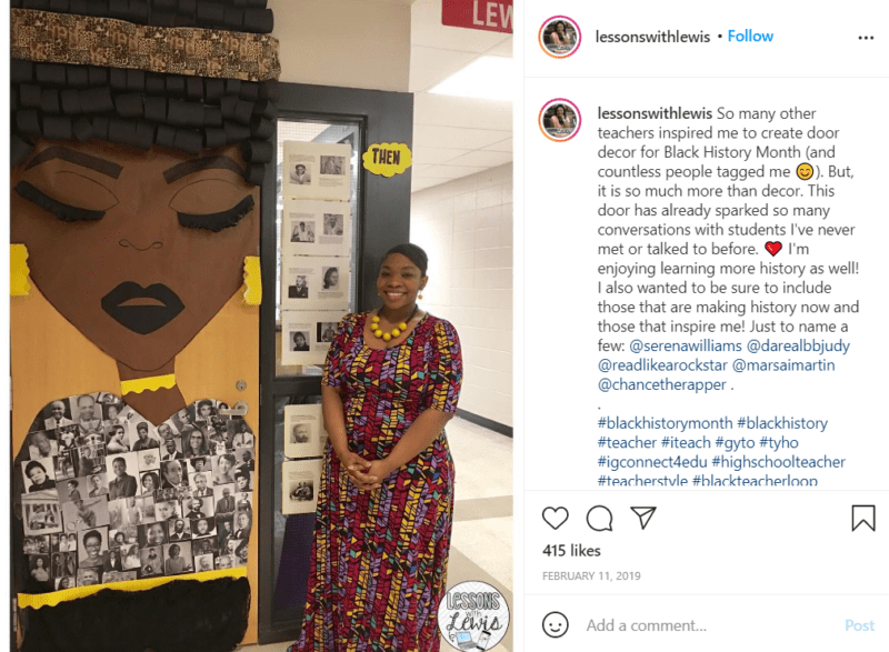 Still of black history month doors are more than decor from Instagram