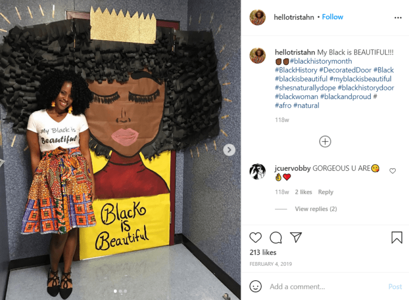 Still of black history month doors can go outside the box from Instagram