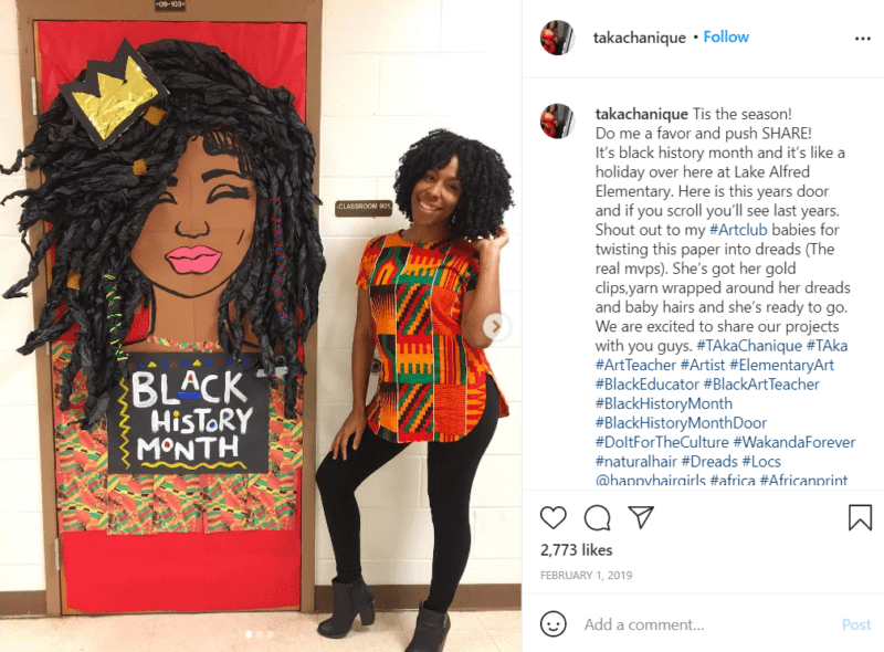 Still of black history month doors have beauty in the details