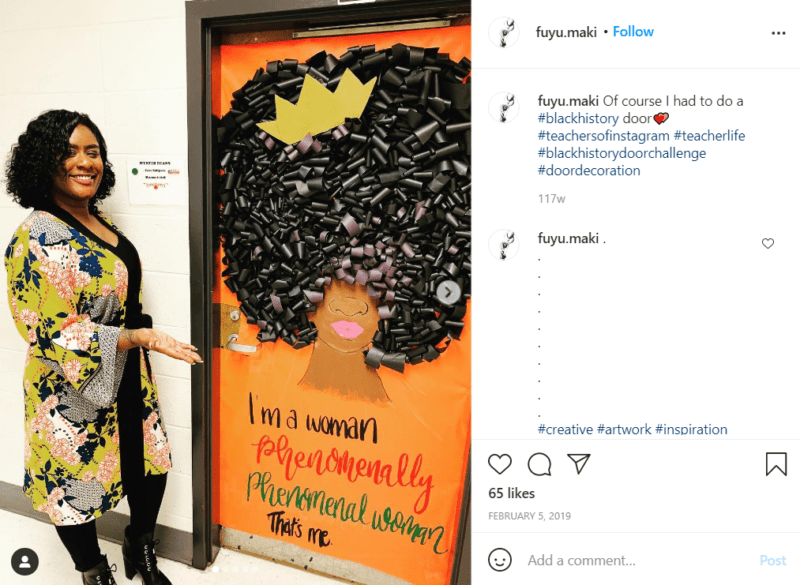 Still of black history month doors shouldn't forget the crown from Instagram