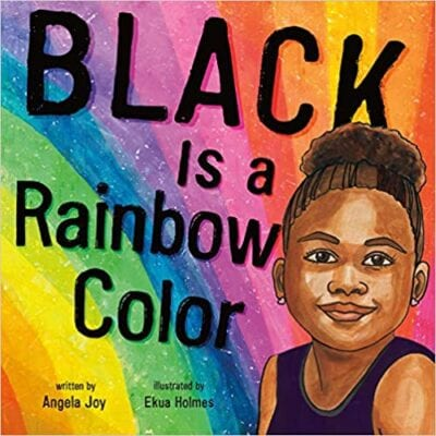 book cover: Black Is a Rainbow Color, as an example of poetry books for kids