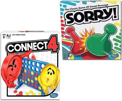 sorry and connect 4 bundle -- second grade classroom supplies