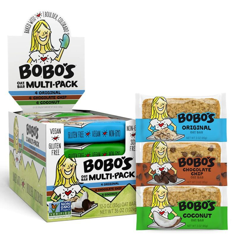 Bobo'nun Yulaf Barları Çeşit Paketi