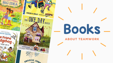 Books About Teamwork collage