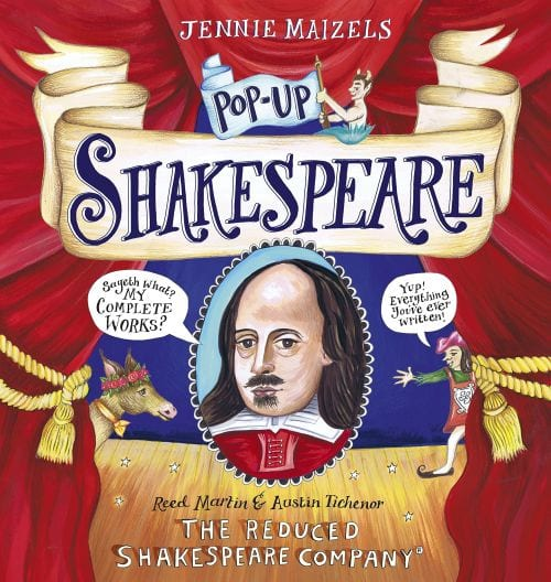 Pop-up Shakespeare by Jennie Maizels