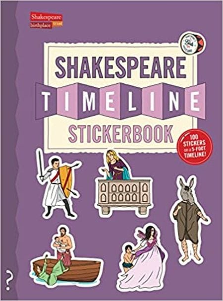 The Shakespeare Timeline Sticker Book