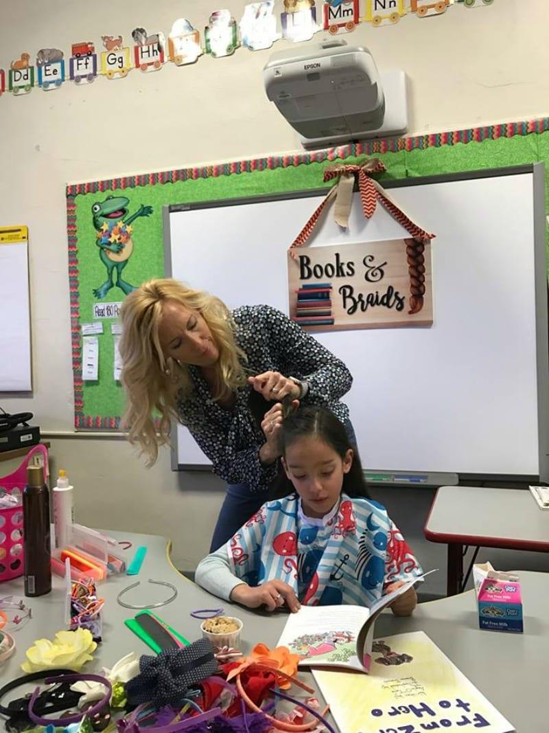 inspiring teacher sara medalen