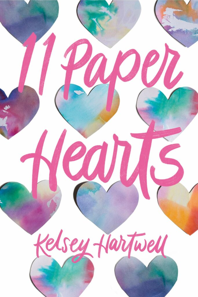 Cover for the young adult novel 11 Paper Hearts books to read for teens