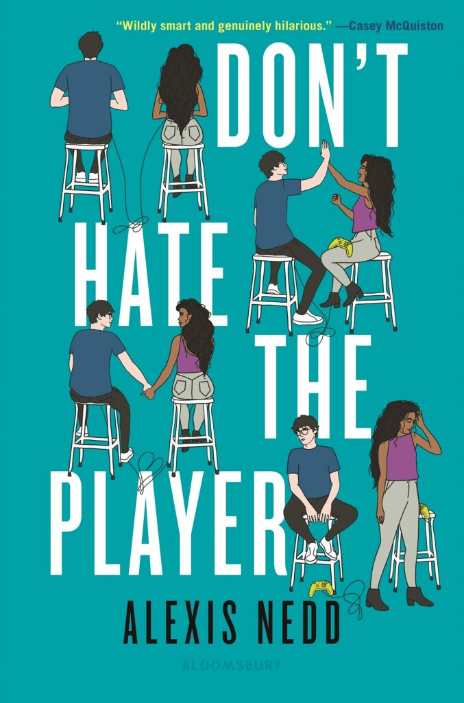 Cover of young adult novel Don't Hate the Player