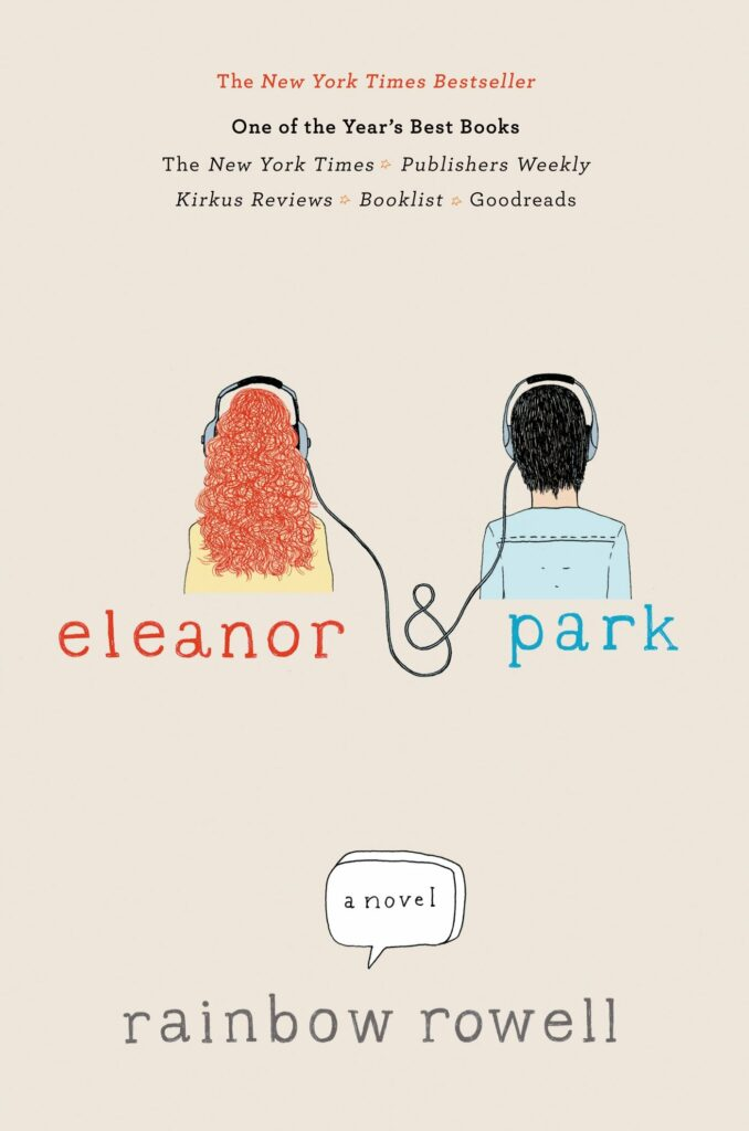 Cover of Eleanor and Park young adult novel