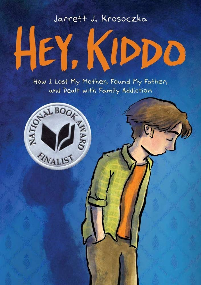 Cover of young adult novel Hey Kiddo