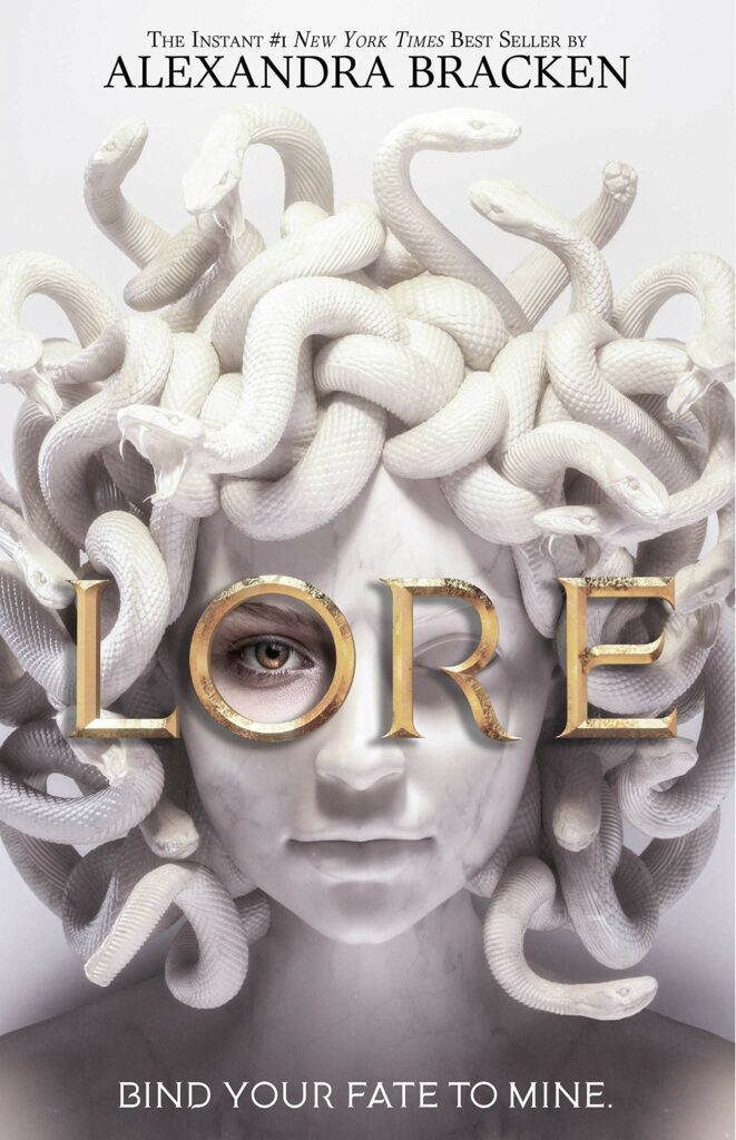 Cover of young adult novel Lore