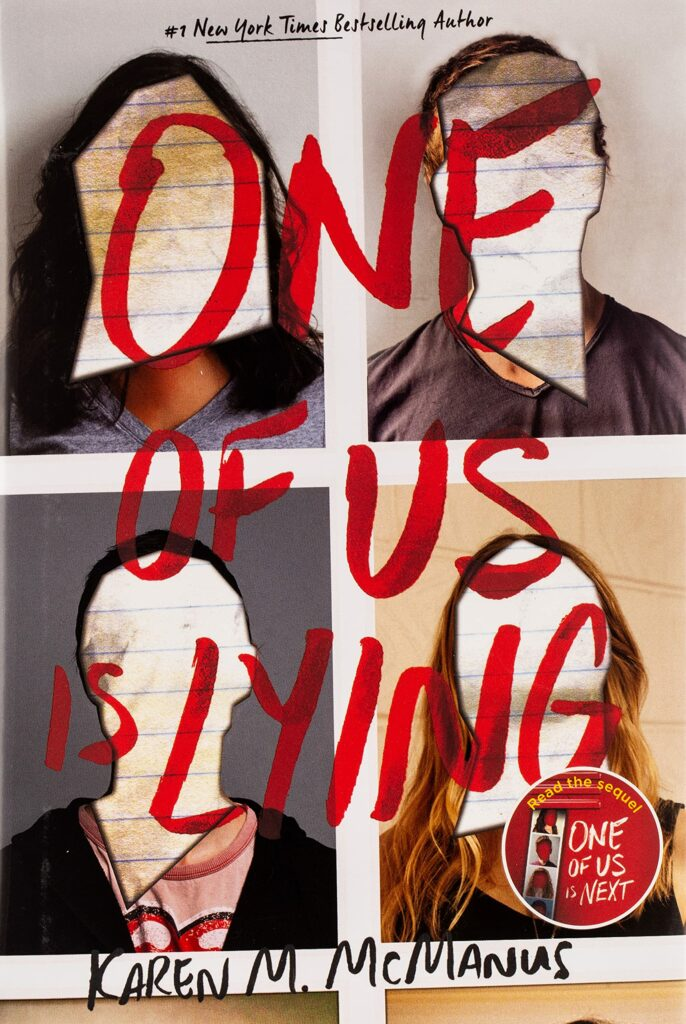 Cover of the novel One of Us is Lying books to read for teens