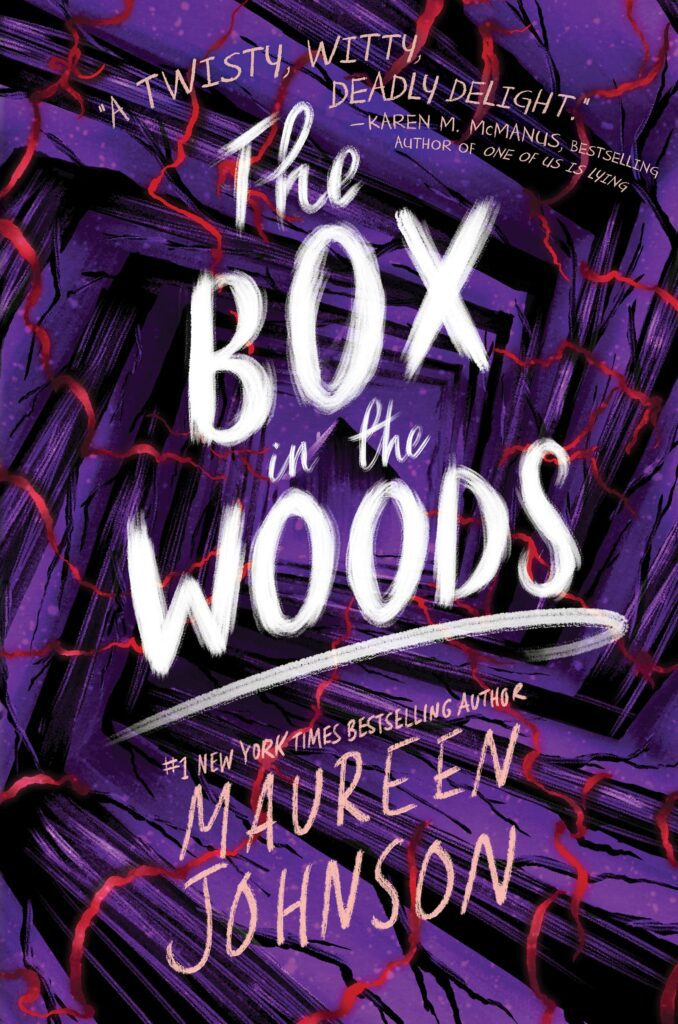 Cover for the novel The Box in the Woods