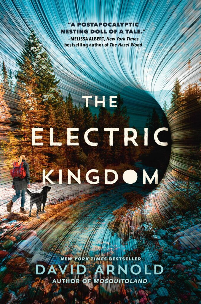 Cover of young adult novel The Electric Kingdom