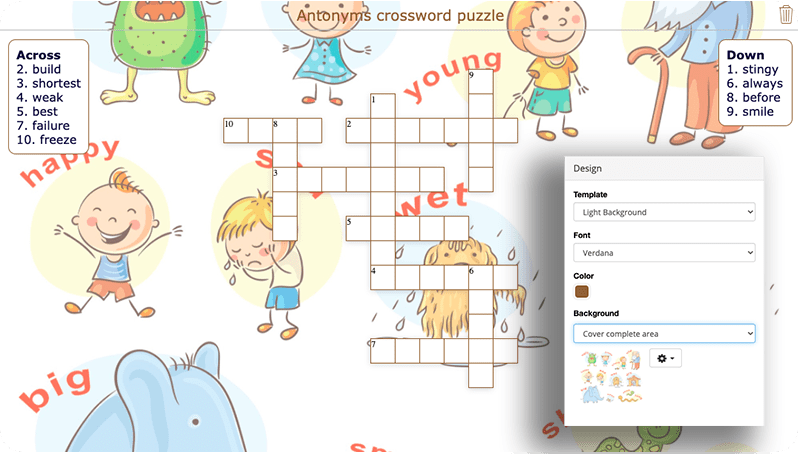 BookWidgets screenshot