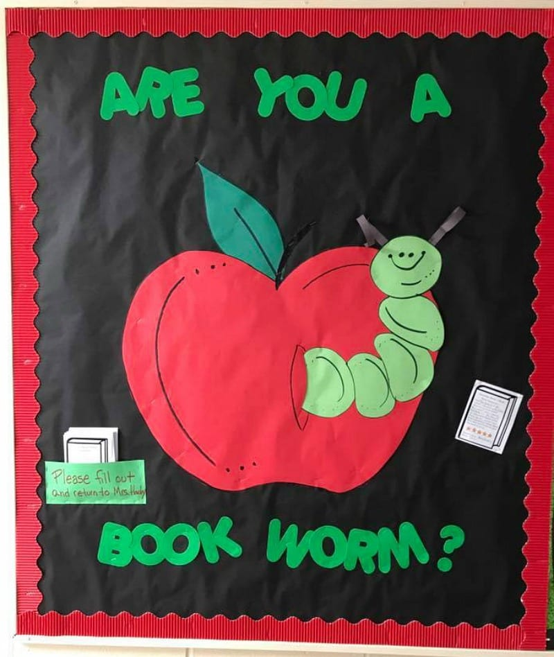 Bookworm Bulletin Board